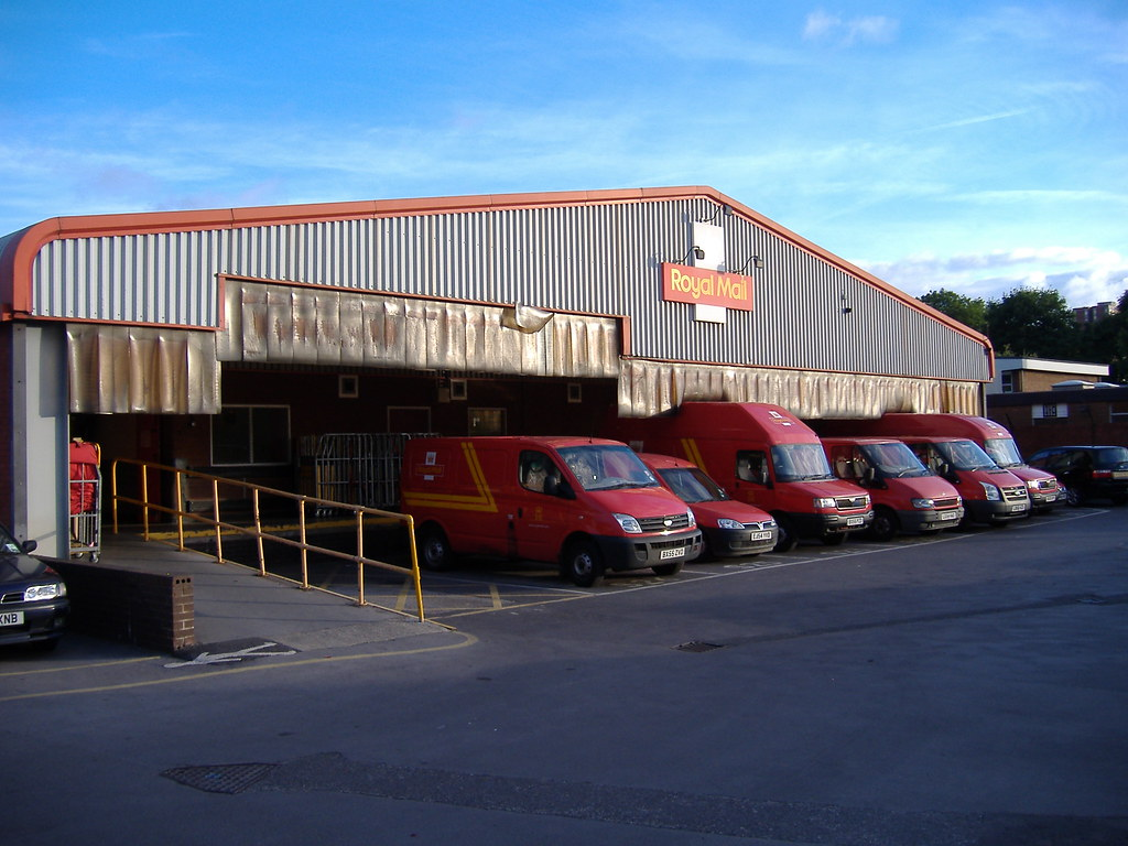 Royal Mail delivery office Salford | Salford delivery ...