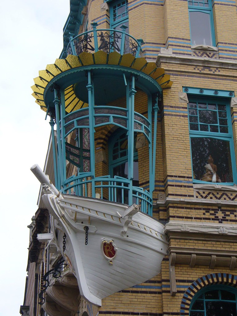 Art nouveau architecture in antwerp fabrizia e flickr - Art nouveau architecture de barcelone revisitee ...