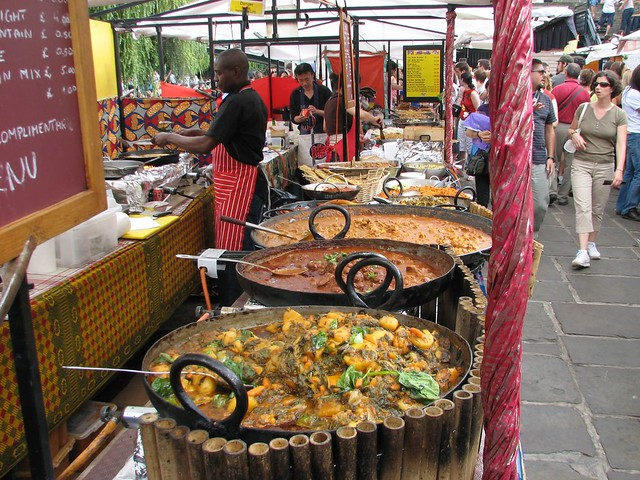 Img 0313 outdoor food court camden market london flickr for Outdoor food market