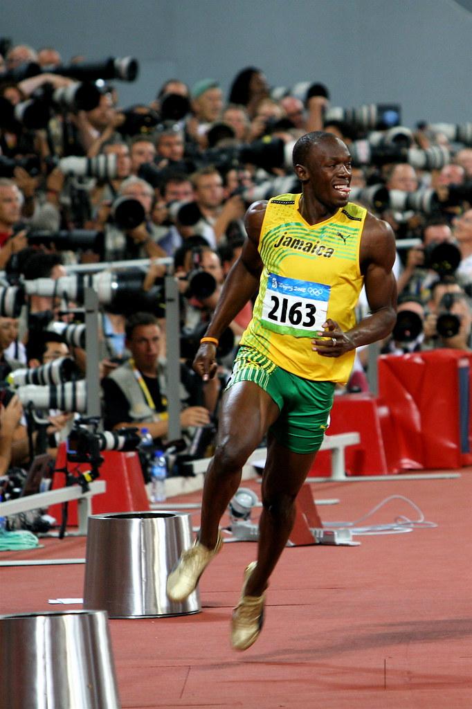 Beijing Olympics: Usain Bolt Breaks The World Record (Men ...