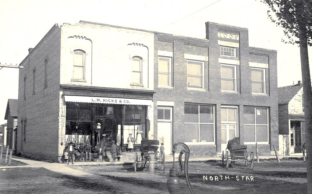 North Star MI Downtown View LM Hicks & Co Store and Indepe… | Flickr