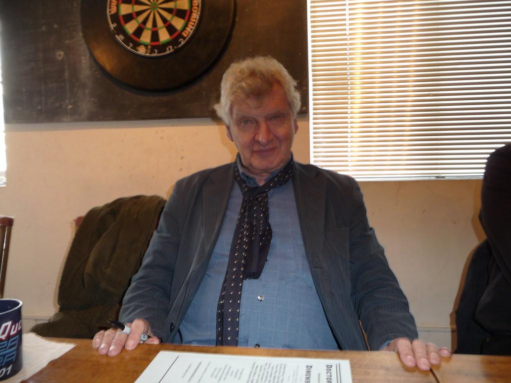 Actor Malcolm Tierney ...