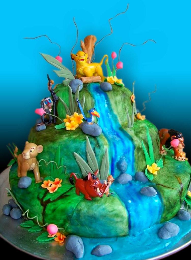 Lion King Cake Alicia S Farewell Lion King Show