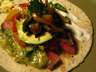 Perfect Steak Tacos with Rajas and Tomatillo Salsa | by SeppySills