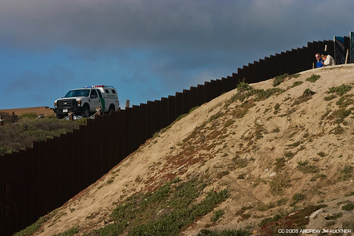 fence people and border patrol | by postmodern sleaze