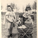 vintage: children with dolls