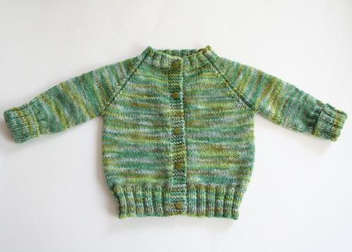 Top Down Raglan Baby Sweater   Pattern: Top Down Raglan ...