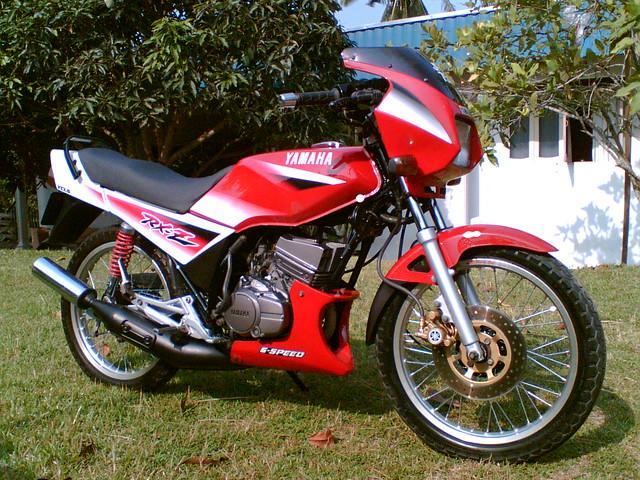 Yamaha Rxz Top Speed