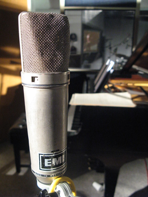 Microphone in Studio 2