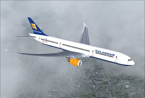 Boeing 787-8 Dreamliner Icelandair Airlines   Capt ...