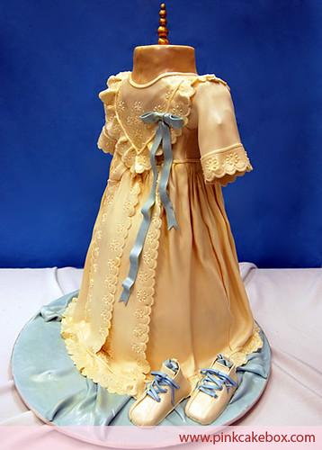 Christening Dress Cake Pan