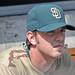 Dirk Hayhurst - in the bullpen for the Padres in 2008