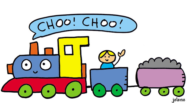 Wee Choo Choo Train Jelene Morris Flickr