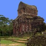 VIETNAM , My Son - Cham-Dynastie , Königsgrab, 3255