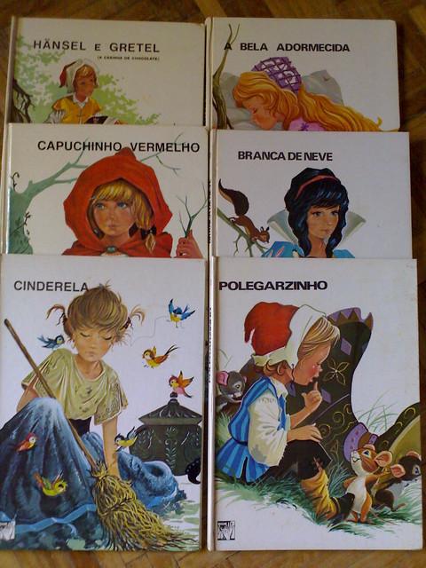 Livros Colecção As Crianças e a Fábula