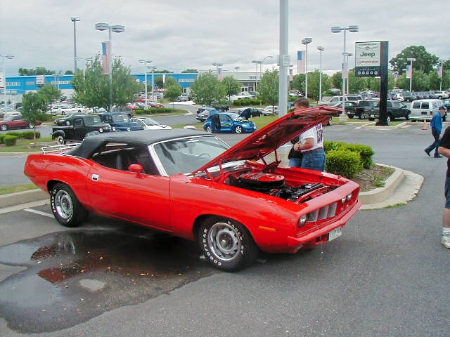 1971 Plymouth Barracuda Convertible Cuda Clone