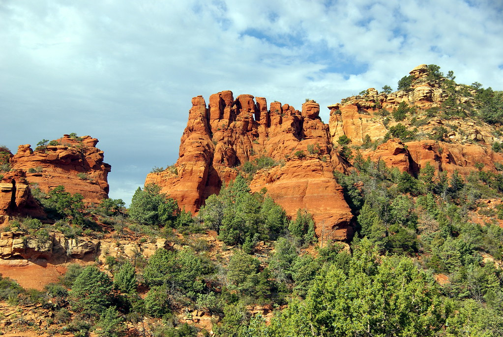 munds wagon trail spires sedona arizona this is the view flickr. Black Bedroom Furniture Sets. Home Design Ideas