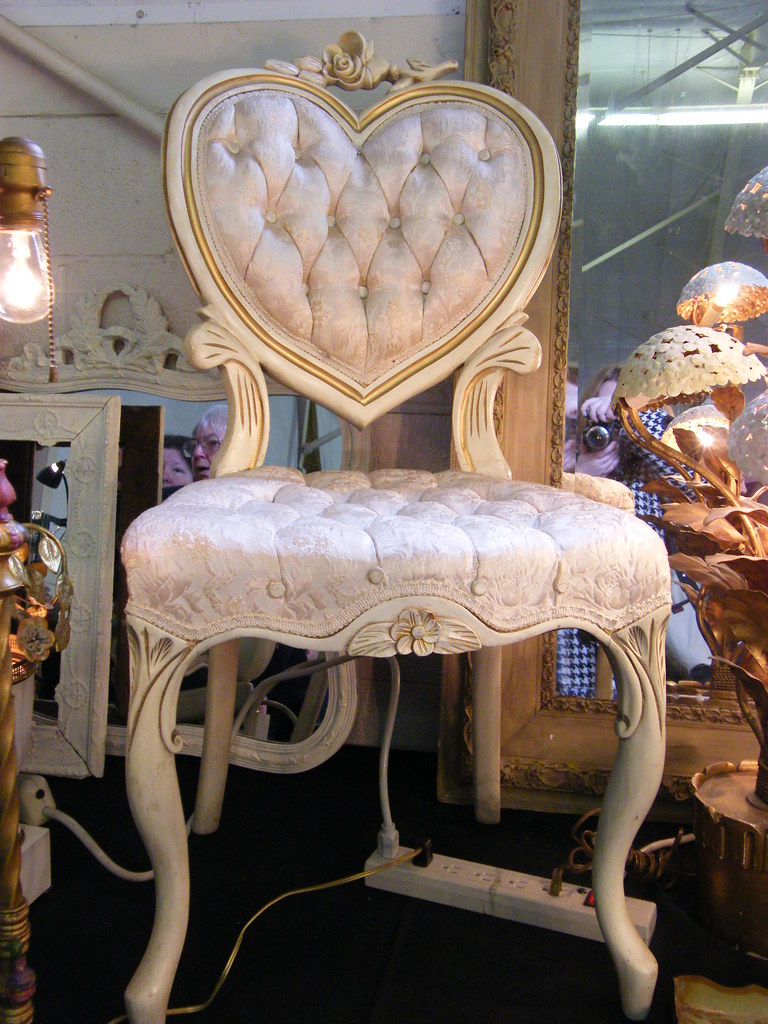 Antique Heart Chair Tanya Miller Flickr