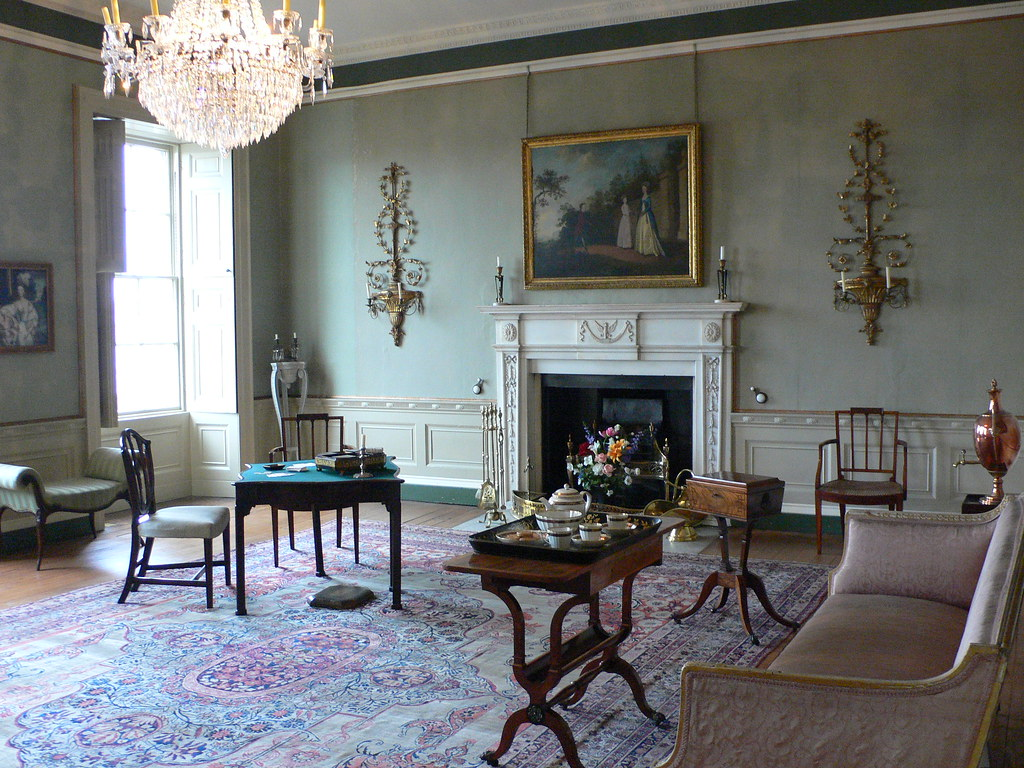 Drawing room at the Georgian house, Bristol | This photo ...