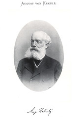 Portrait of August Kekule (1829-1896), Chemist