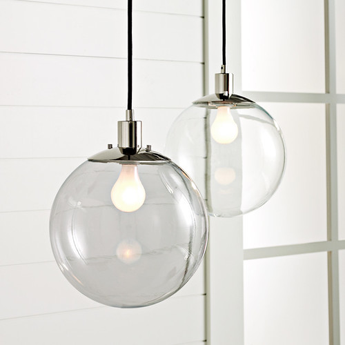 3d Model Globe Pendant Lamp By West Elm: YES, YES!! Available In Clear Or