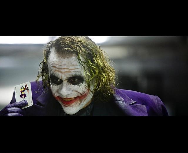 The Dark Knight Joker With Card Wallpaper B Djffny Flickr