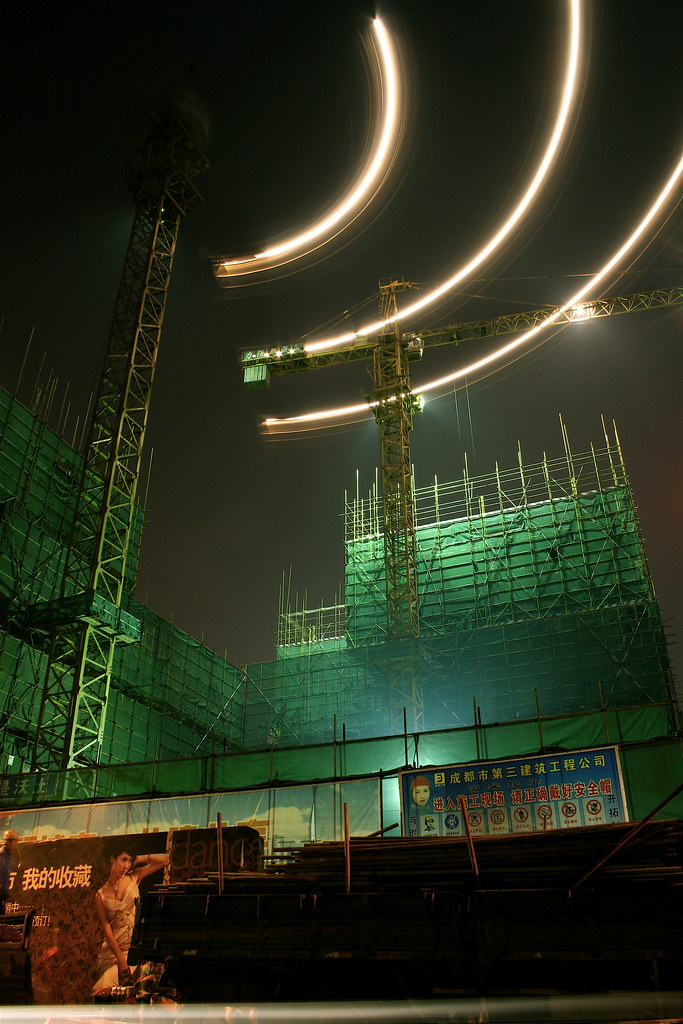 Chinese Construction Boom Chinese Construction Boom