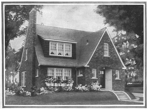 Sears home the belmont english cottage sears kit house for Catalog houses