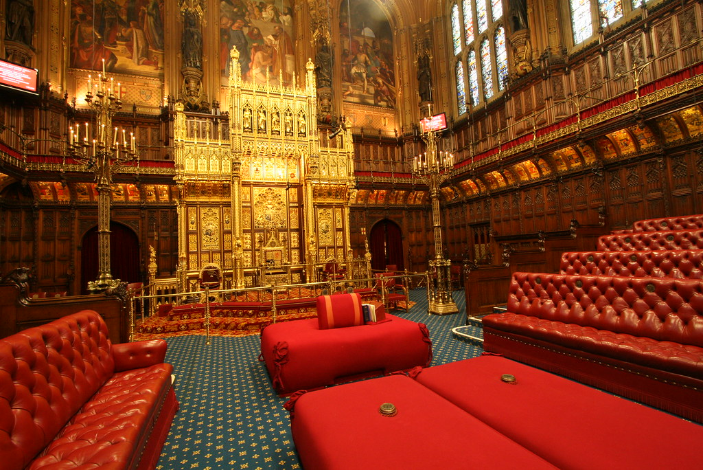 House Of Lords Chamber The Lords Acts As A Revising