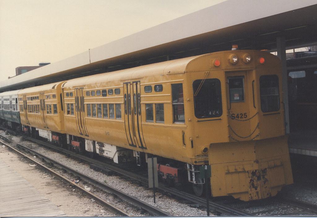 Chicago Transit Authority 1950's Era 6000 Series Rapid Tra