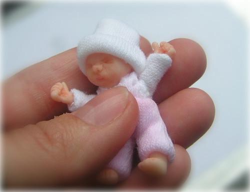 Miniature Baby Ooak Polymer Doll Fairyina Flickr