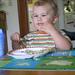 Baby Sam Eats Lunch
