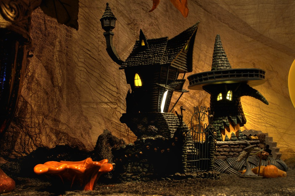 Nightmare Before Christmas Jack's House/Witch House | Flickr