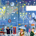 Faber company Christmas card