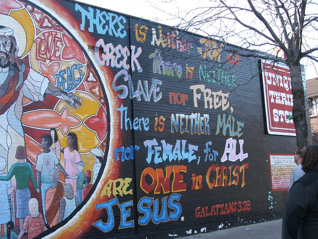 Racial reconciliation mural uptown chicago flickr for Chicago mural group