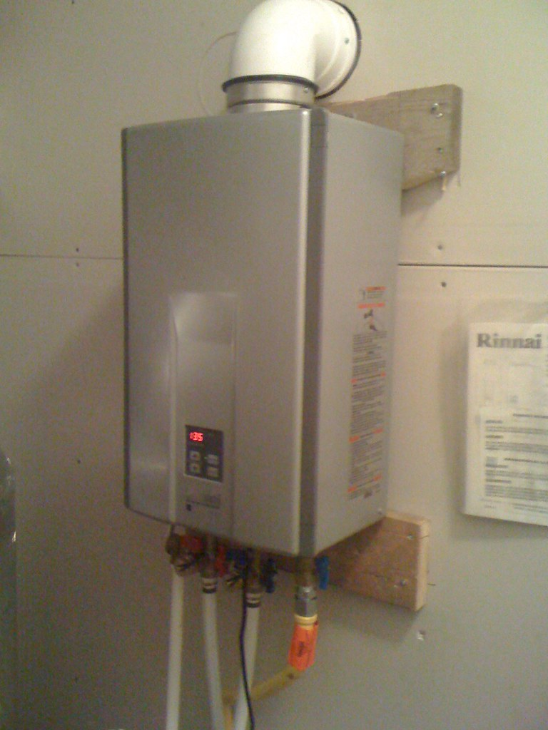 On Demand Hot Water : Hot water on demand removed a gallon gas