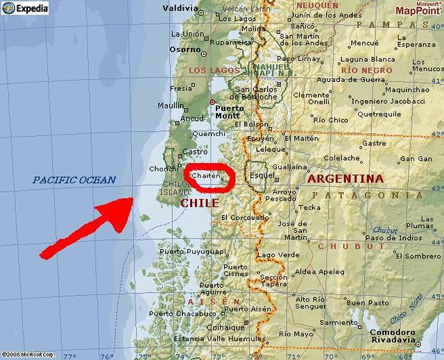 mapa lagos Mapa de Chaitén, Los Lagos, Chile. | Douglas Fernandes | Flickr mapa lagos