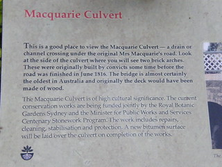 Macquarie Culvert Sign | by zuctronic