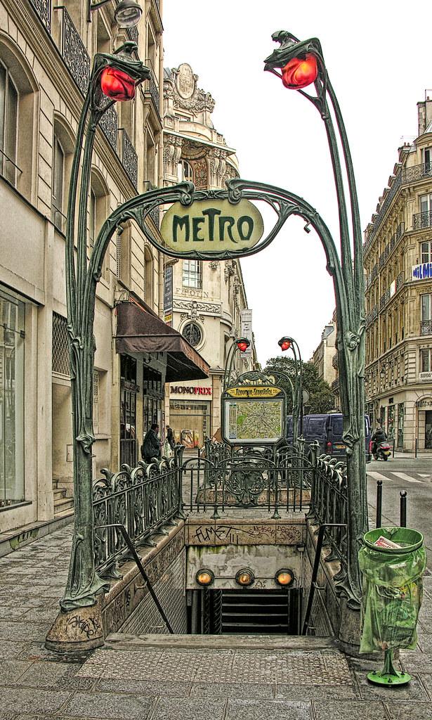 reaumur sebastopol dscn7533 ep entrance to the paris met flickr. Black Bedroom Furniture Sets. Home Design Ideas