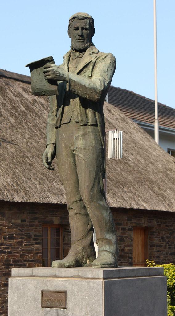 Statue Of Gert Maritz Voortrekker Leader Voortrekker