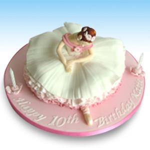 Birthday Ballerina Cake