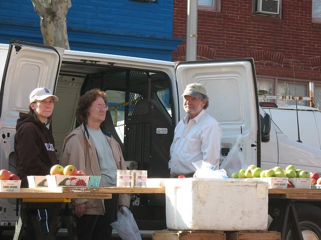Highlandtown Farmer's Market | Harris Orchard. Really ...