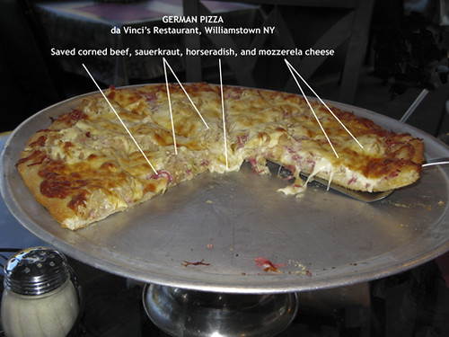 Anatomy Of German Pizza Williamstown Wv Da Vinci S