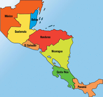 centroamerica-mapa | Flickr - Photo Sharing! CENTRO AMERICA