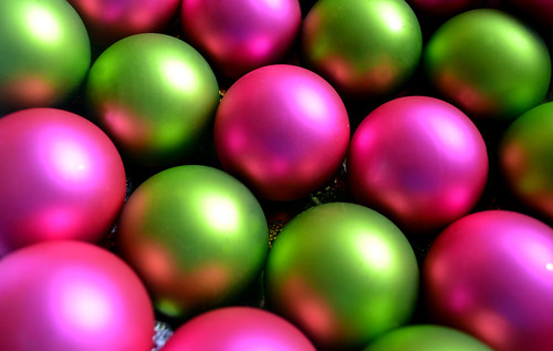 green and pink ornaments | by Sofia Katariina