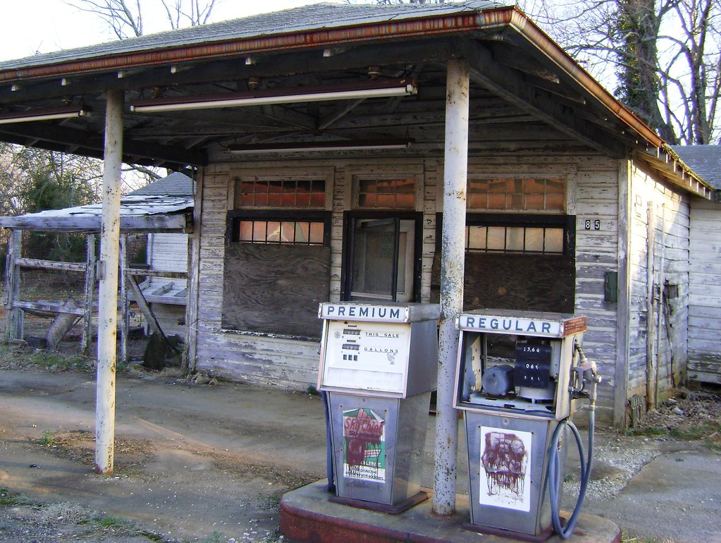 Abandoned Gas Station Mocksville Nc This Old Station Is