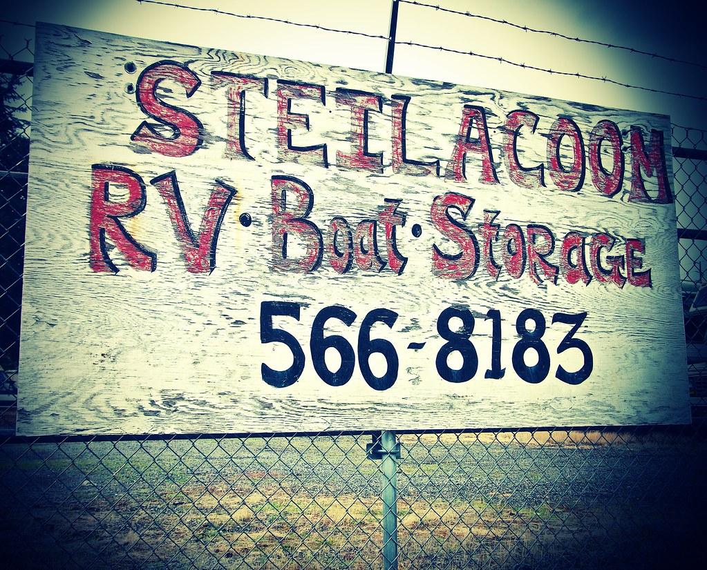 Boat Storage Signage : Boat storage sign in lakewood