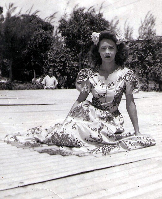 Mami 1944 Barrio Unibon Morovis Puerto Rico Mother
