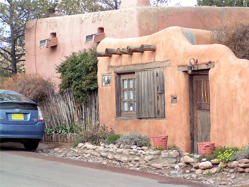 Santa fe pueblo style house flickr photo sharing for Santa fe style manufactured homes