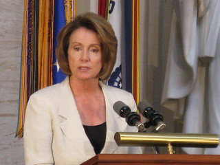 Nancy Pelosi | by Talk Radio News Service